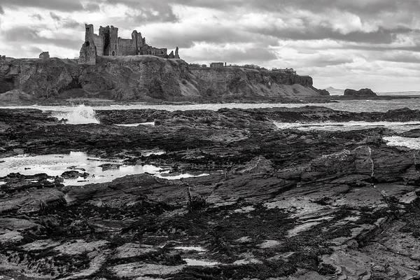 Photograph - Tantallon Castle by Jeremy Lavender Photography