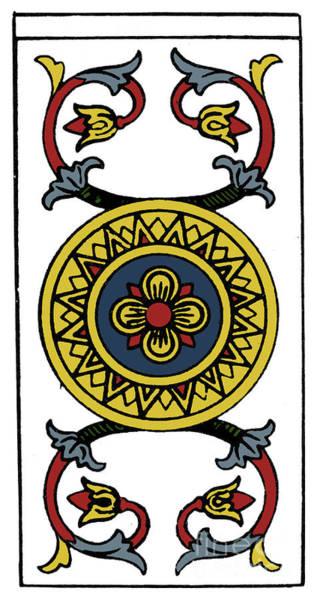 Photograph - Tarot Card Ace Of Pences by Granger