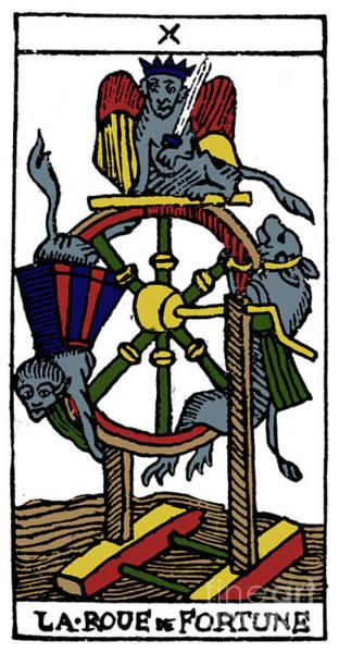 Photograph - Tarot Card Fortune by Granger