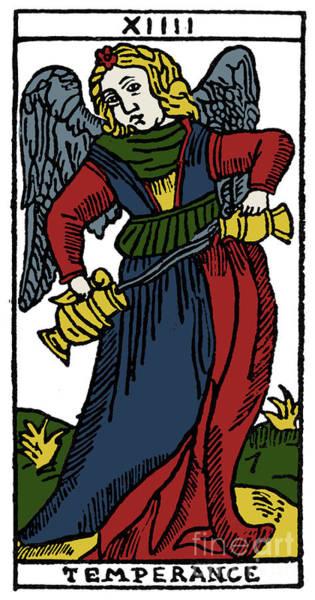 Photograph - Tarot Card Temperance by Granger