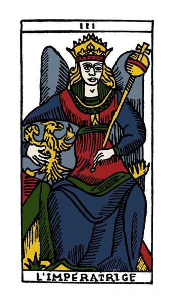 Photograph - Tarot Card The Empress by Granger