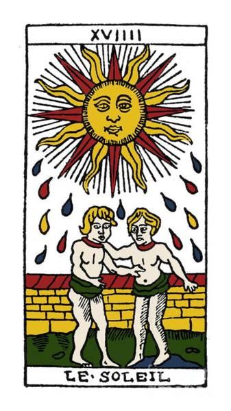 Photograph - Tarot Card The Sun by Granger