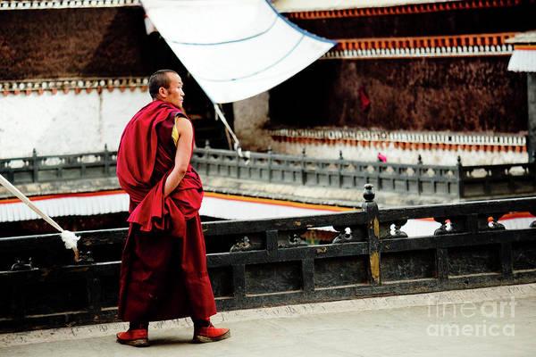 Kora Wall Art - Photograph - Tashilhunpo Monastery Shigatse Tibet Yantra.lv  by Raimond Klavins