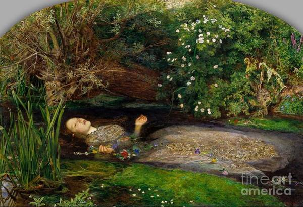Ophelia Painting - Tate Britain by MotionAge Designs