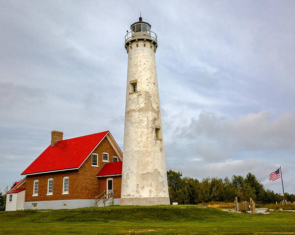 Photograph - Tawas Point Lighthouse - Lower Peninsula, Mi by Jack R Perry