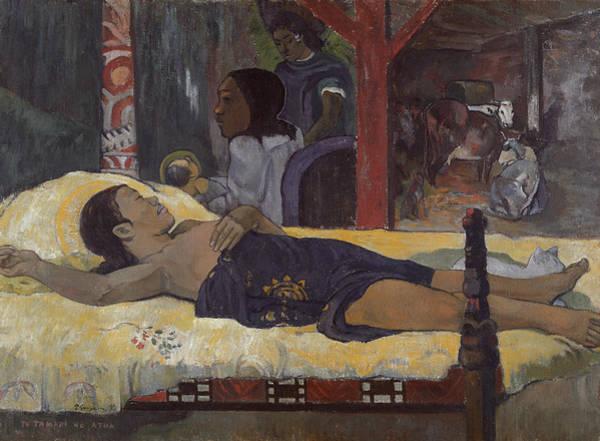 Painting - Te Tamari No Atua  by Paul Gauguin