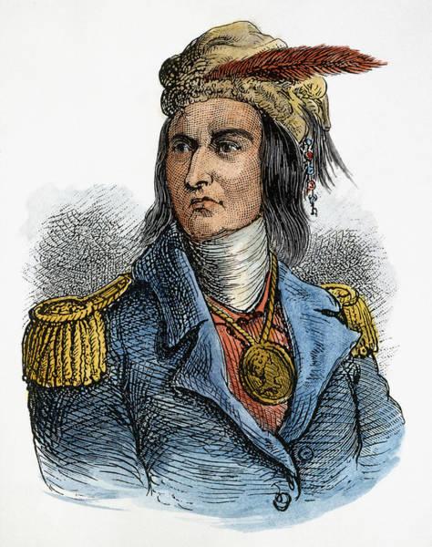 Epaulette Photograph - Tecumseh (1768-1813) by Granger