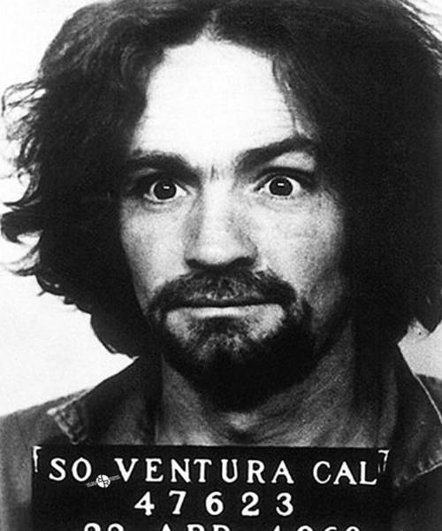 Mugshot Wall Art - Photograph - Charles Manson Mug Shot 1969 Vertical  by Tony Rubino