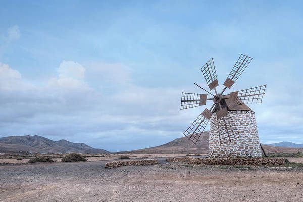 Windmill Island Photograph - Tefia - Fuerteventura by Joana Kruse