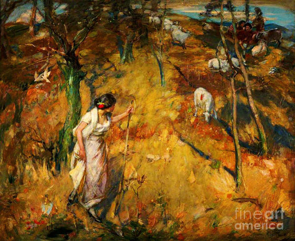 Painting - Tell Me Shepherds by Celestial Images