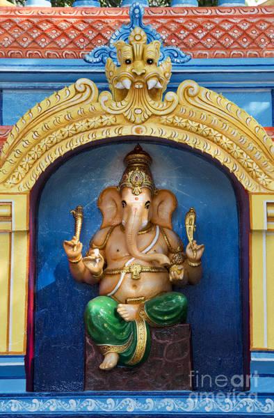 Yogic Wall Art - Photograph - Temple Ganesha by Tim Gainey
