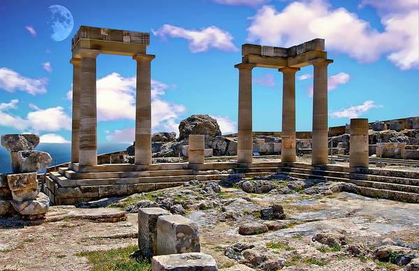 Photograph - Temple Of Athena by Anthony Dezenzio