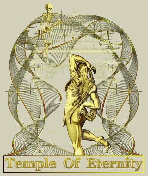 Digital Art - Temple Of Eternity by Robert G Kernodle