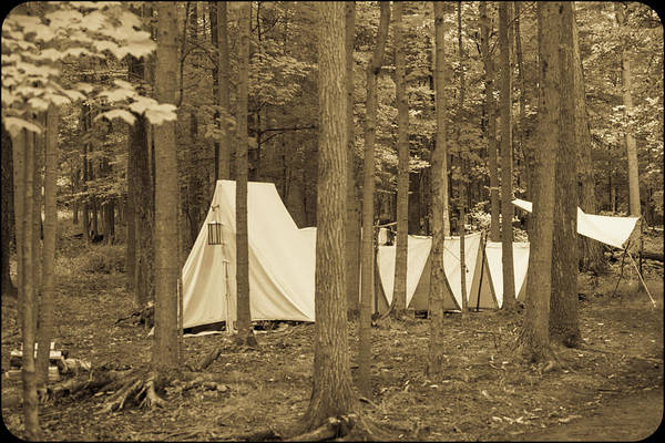 Photograph - Tents by Stewart Helberg