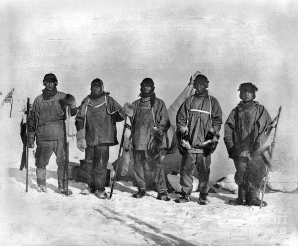Painting - Terra Nova Expedition by Granger