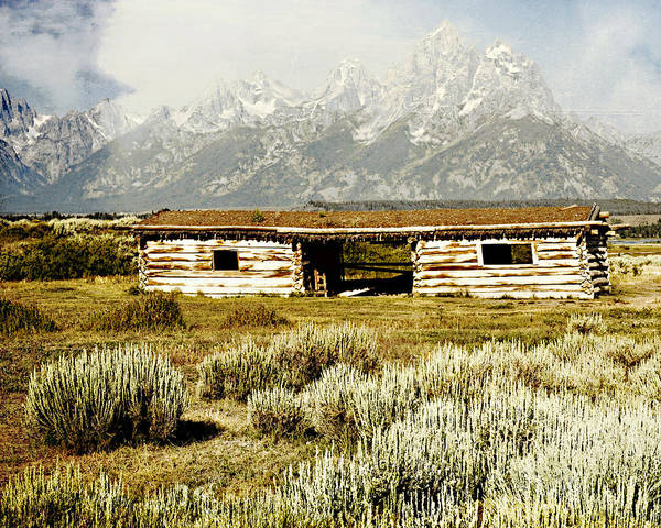 Photograph - Teton Ranch by Marty Koch