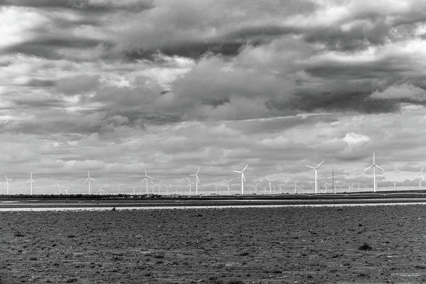 Photograph - Texas Wind Farm by SR Green