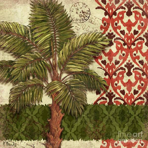 Thai Wall Art - Painting - Thai Palm II by Paul Brent