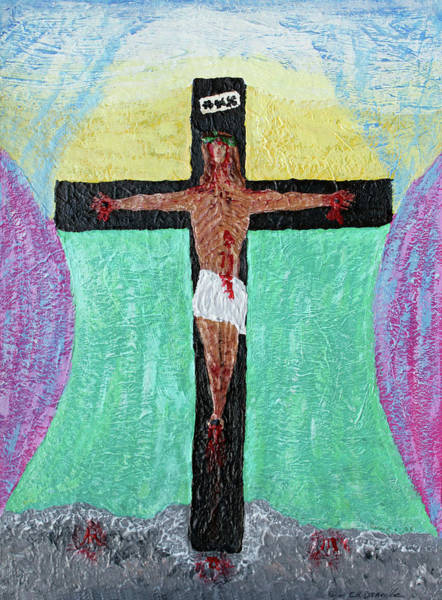 Painting - Thank God For Good Friday Nineteen Ninety Nine by Carl Deaville
