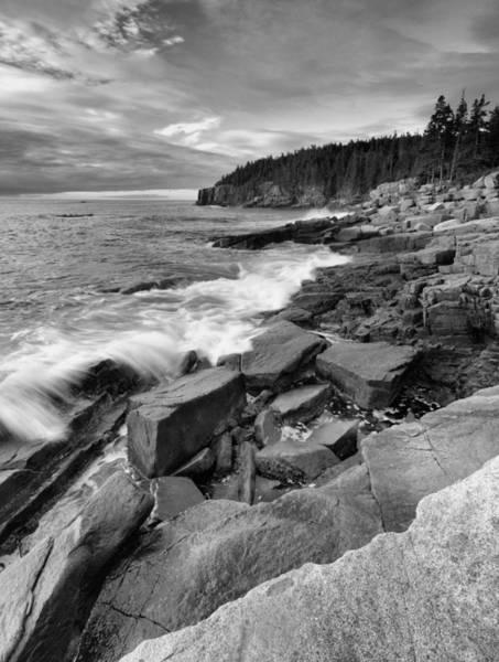 Wall Art - Photograph - The Acadia Coastline by Stephen  Vecchiotti