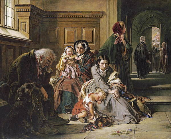 Courthouse Painting - The Acquittal by Abraham Solomon