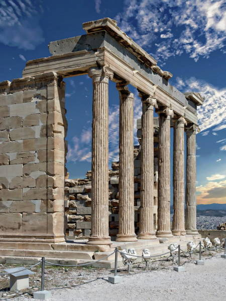 Photograph - The Acropolis by Anthony Dezenzio
