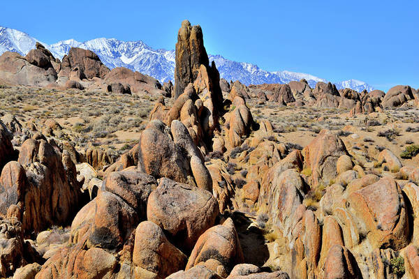 Photograph - The Alabama Hills Near Lone Pine California by Ray Mathis