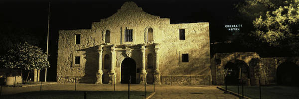 Siege Photograph - The Alamo San Antonio Tx by Panoramic Images
