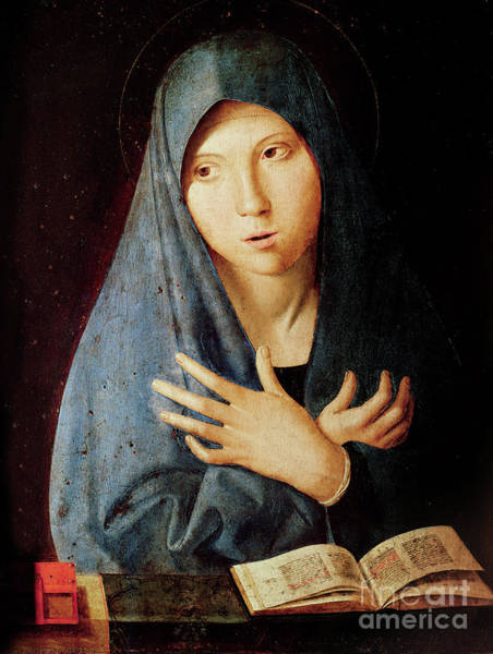Wall Art - Painting - The Annunciation by Antonello da Messina