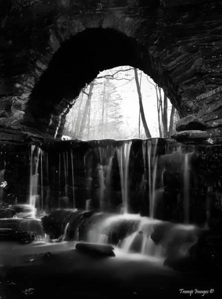 Photograph - The Arch Bridge by Wesley Nesbitt