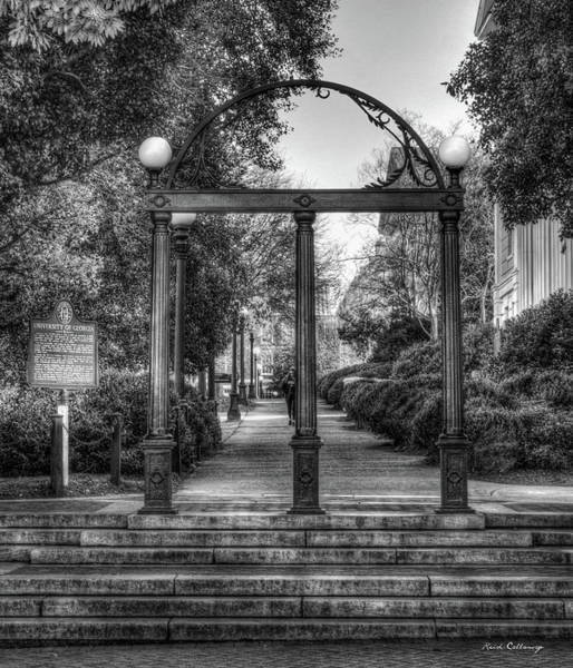 Photograph - The Arch University Of Georgia Arch Art by Reid Callaway