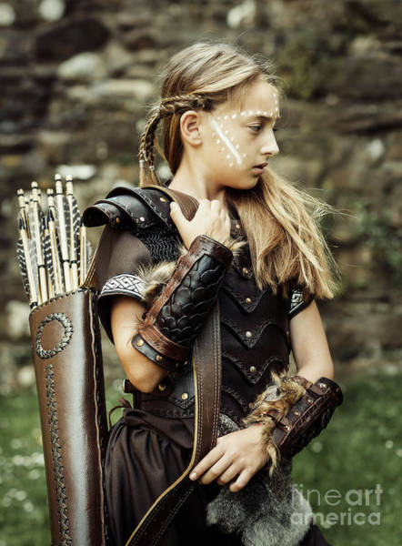 Cosplay Photograph - The Archer by Amanda Elwell