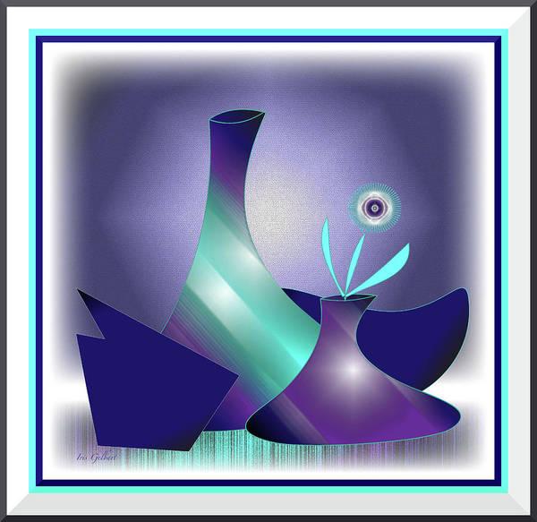 Jug Digital Art - The Arrangement by Iris Gelbart