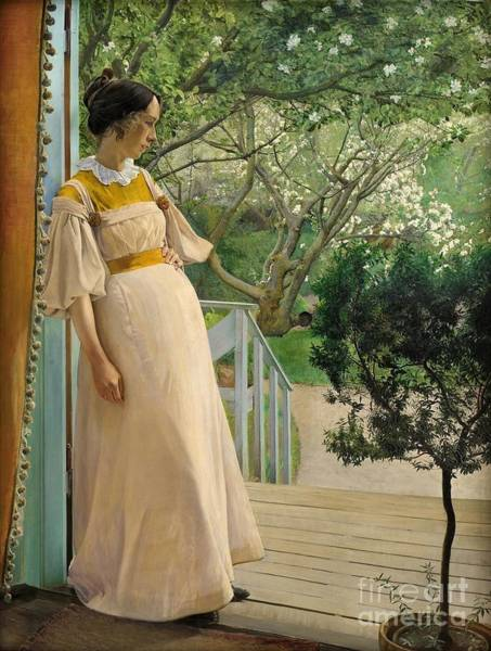 Laurits Andersen Ring Painting - The Artist's Wife by MotionAge Designs
