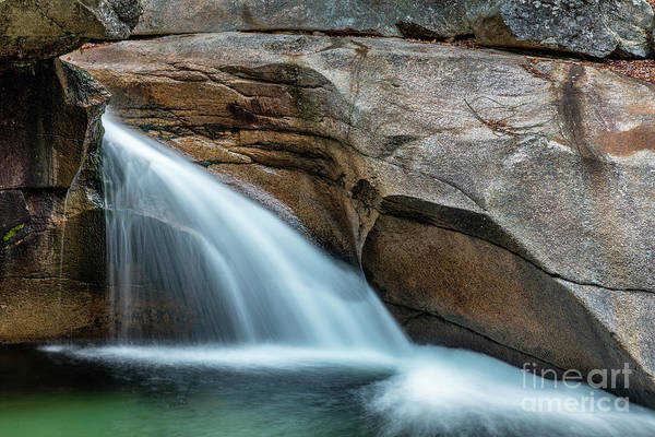 Franconia Notch State Park Photograph - The Basin by John Greim
