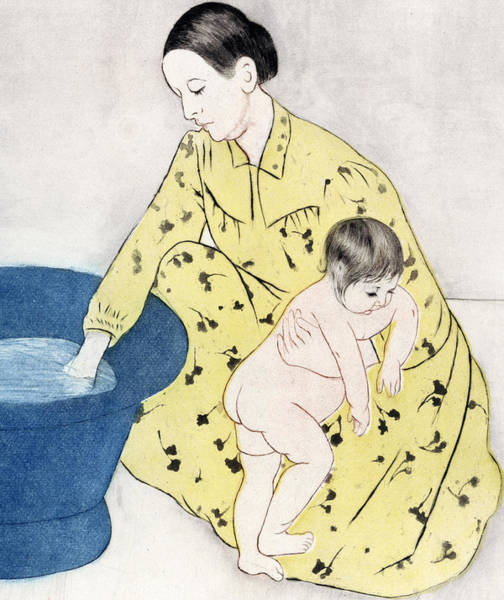 Painting - The Bath  by Mary Stevenson Cassatt