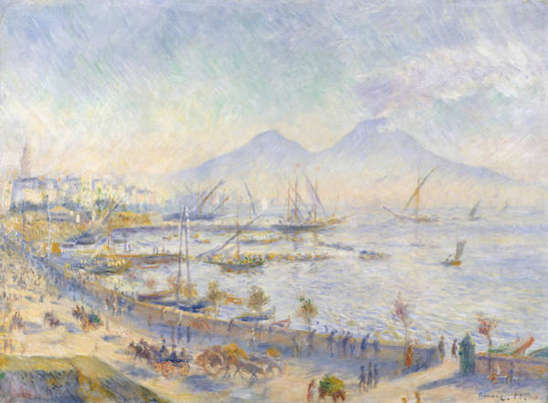 Painting - The Bay Of Naples by Auguste Renoir