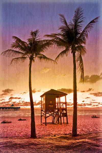Boynton Photograph - The Beach by Debra and Dave Vanderlaan