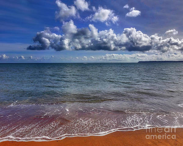 Photograph - The Beach by Edmund Nagele