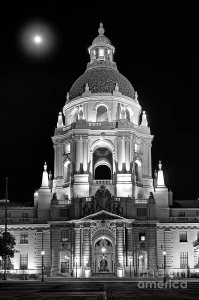 Cityhall Photograph - The Beautiful Pasadena City Hall. by Jamie Pham