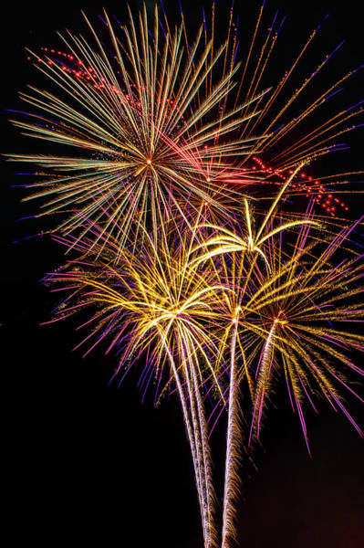 Dazzle Wall Art - Photograph - The Beauty Of Fireworks by Garry Gay