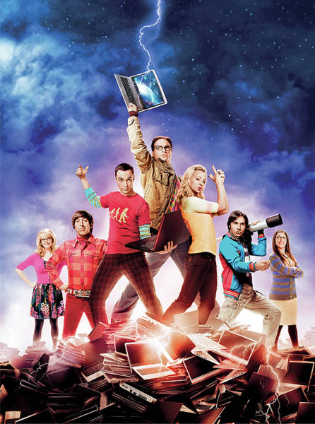 Big Bang Digital Art - The Big Bang Theory  by Geek N Rock