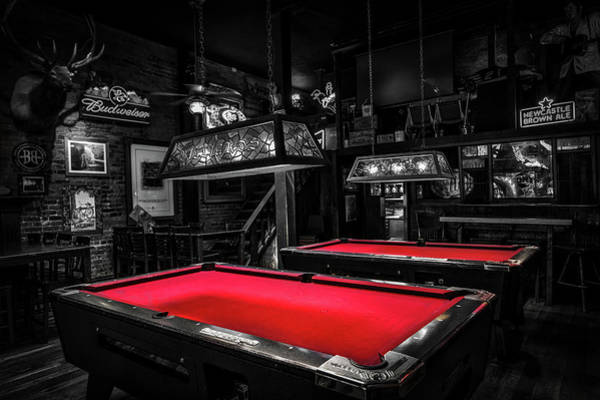 Wall Art - Photograph - The Billiards Room by Mountain Dreams