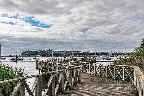 Swan Boats Photograph - The Boardwalk by Steve Purnell