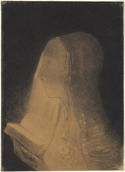 Painting - The Book Of Light by Odilon Redon