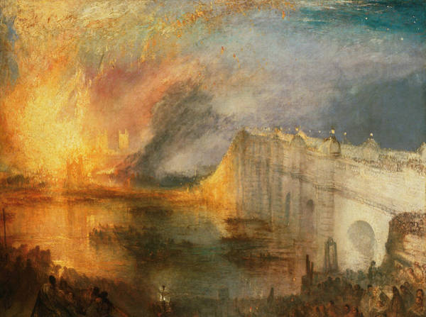 Painting - The Burning Of The Houses Of Lords And Commons by Joseph Mallord William Turner