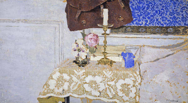 Painting - The Candlestick by Edouard Vuillard