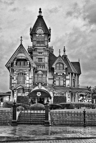 Queen Anne Style Photograph - The Carson Mansion by Jamie Pham