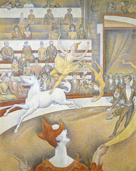 Painting - The Circus by Georges-Pierre Seurat