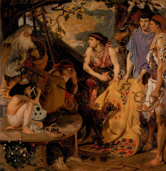 Painting - The Coat Of Many Colours by Ford Madox Brown